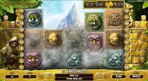 Gonzo's Quest Gokkast Free Fall Bonus