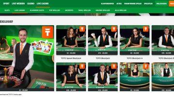 Live Casino van TOTO Casino